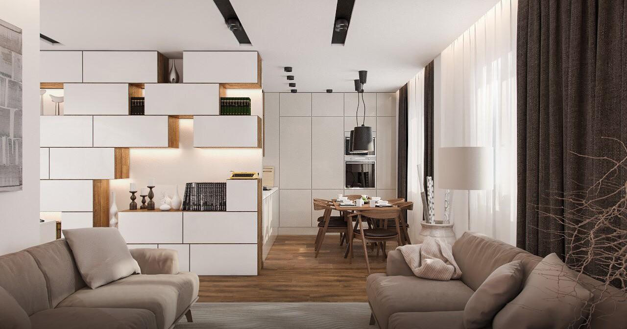 Дизайн 3-х комнатной квартиры «Современный стиль»