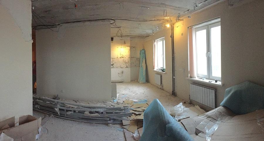 Дизайн 3-х комнатной квартиры «Современный стиль» - начало ремонта