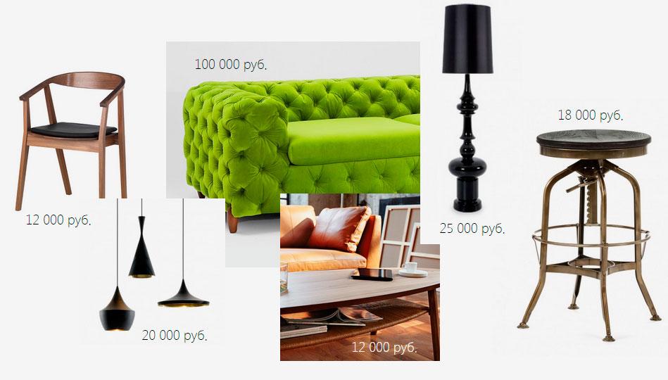 Холостяцкая квартира в стиле «Pop-Art»: подбор мебели в бюджет
