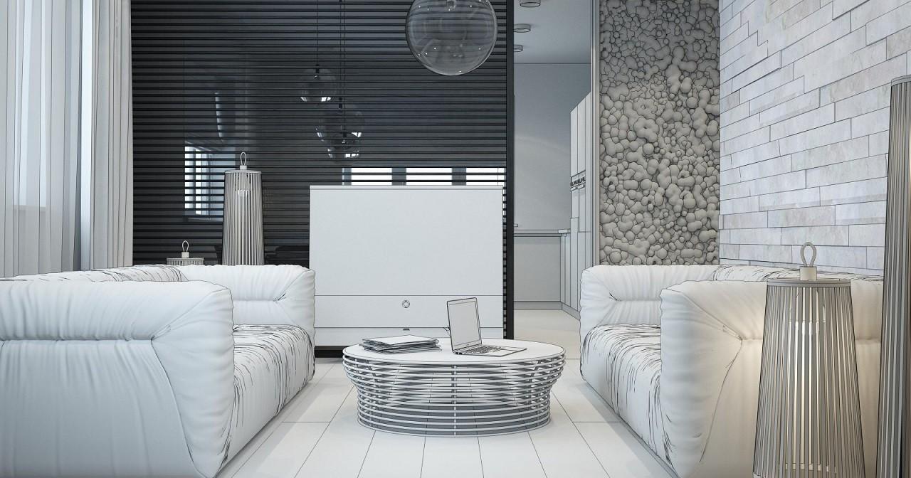 Дизайн интерьера дома в стиле Loft