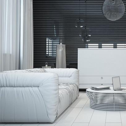 Black & White (Loft дизайн)