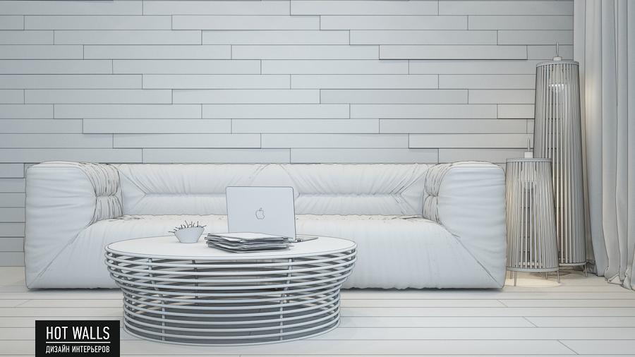 Дизайн интерьера дома в стиле Loft: эскиз