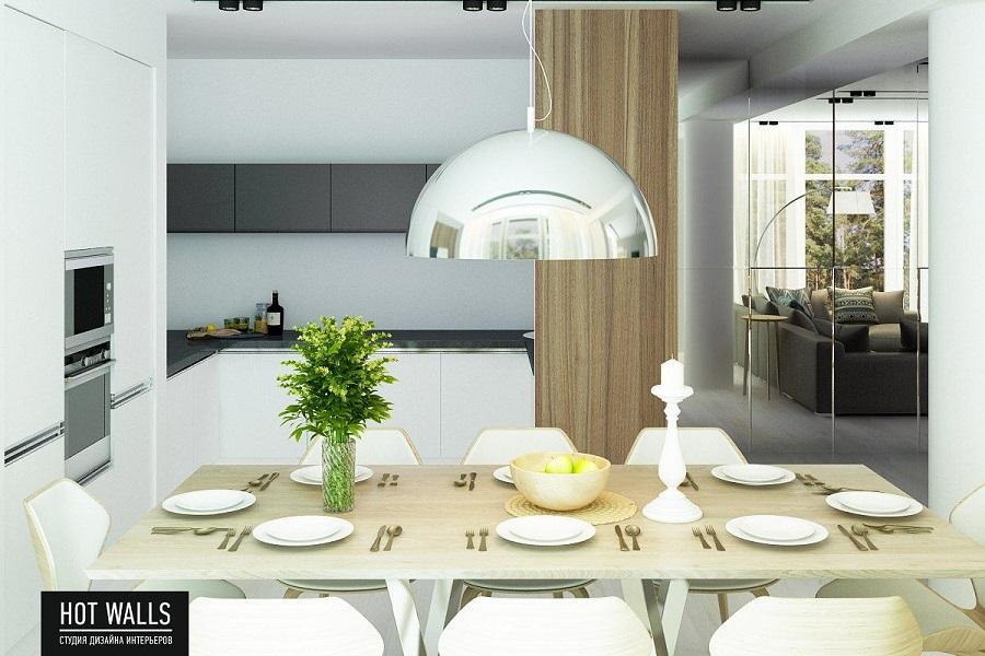 Дизайн коттеджа на Уралмаше: кухня