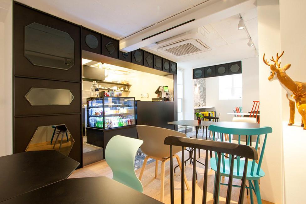 Дизайн интерьера детского кафе