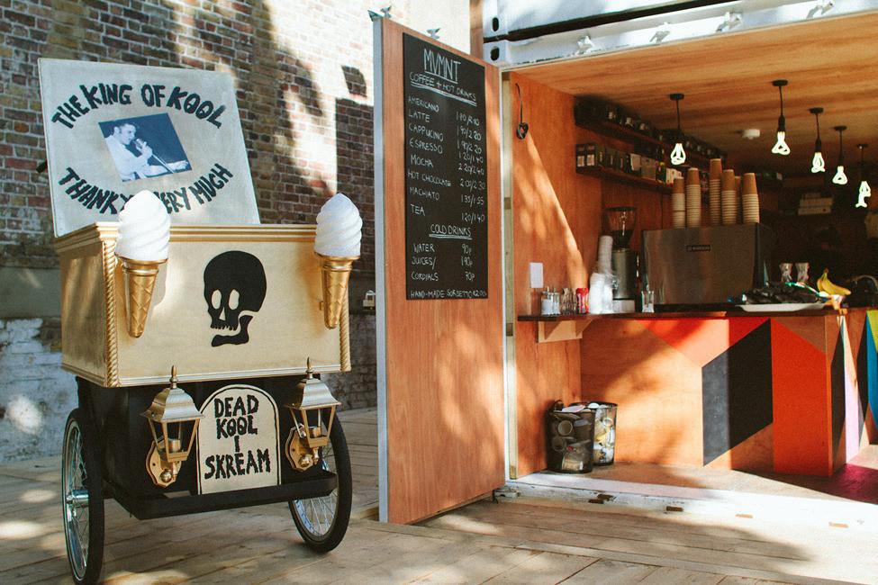 Дизайн летнего кафе