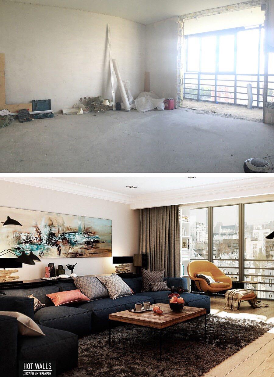 Начало ремонта в квартире на ул. Московская, 77