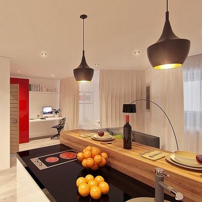 Однокомнатная квартира в стиле - Минимал