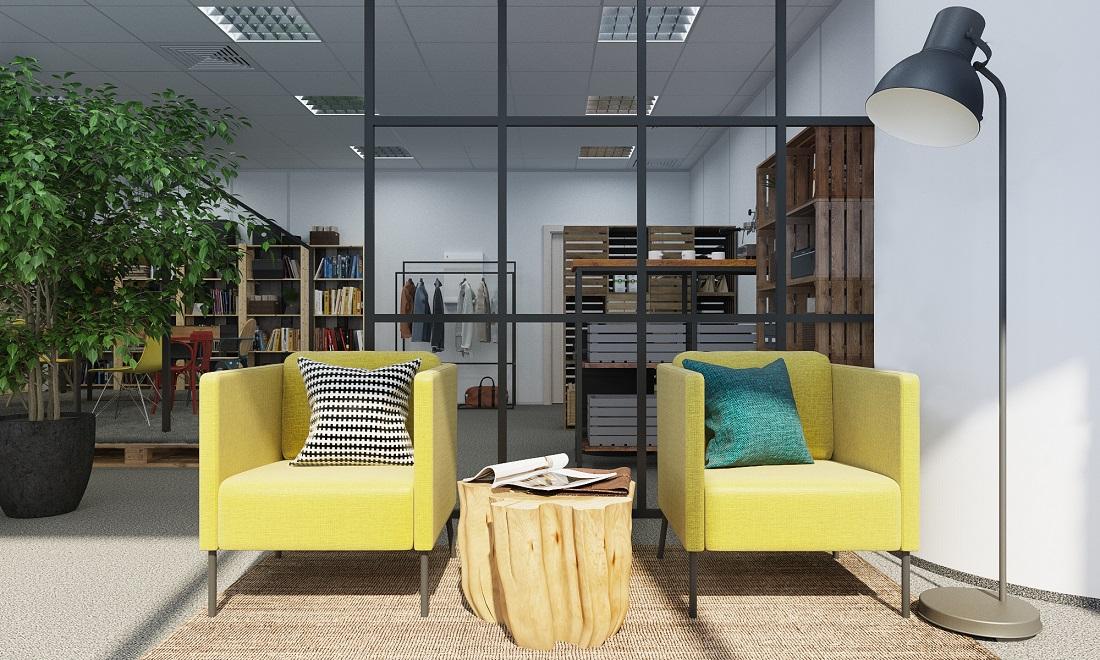 Дизайн офиса, 70 кв.м.