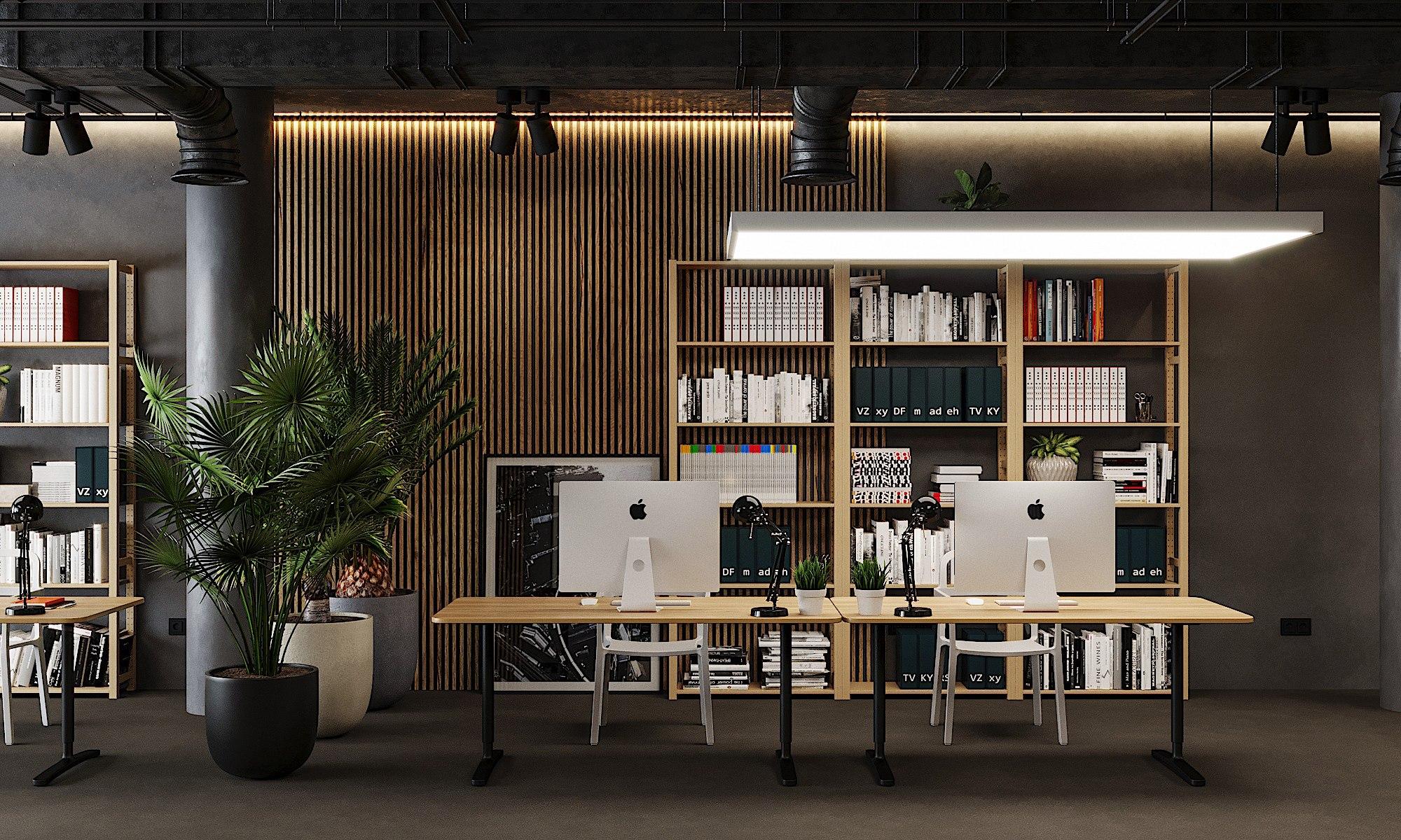 Офис Hot Walls